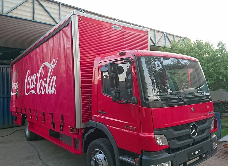 Carrocerias – VPS Operación Coca Cola 2016