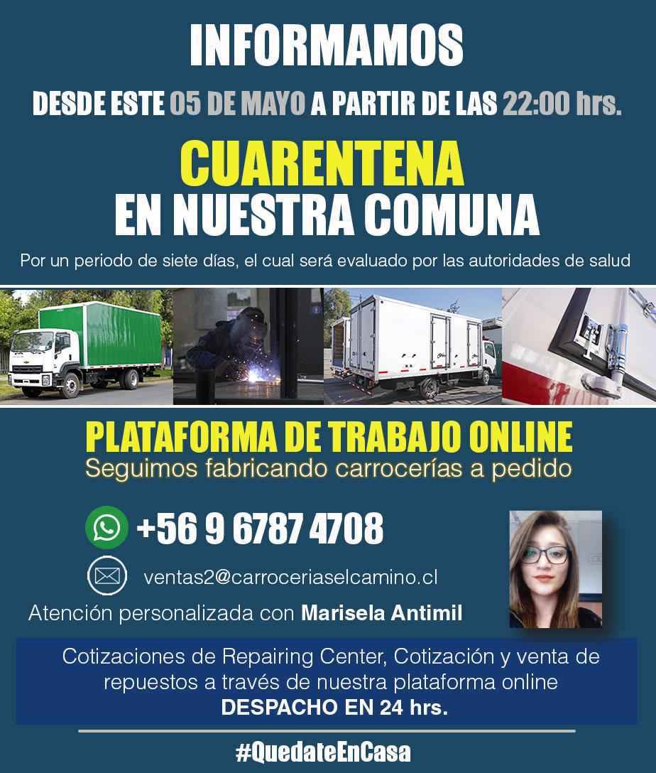 Información Por Periodo De Cuarentena En Cerrillos