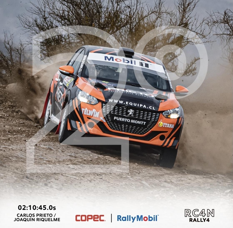 2° Lugar Carlos Prieto En RallyMobil™ Rinconada – Los Andes
